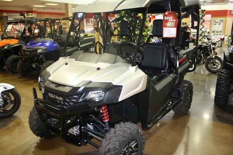 New 2017 Honda Pioneer 700-4 Deluxe Matte Silver ATVs For Sale in Arkansas. 2017 Honda Pioneer 700-4 Deluxe Matte Silver, BRAND NEW! Heartland Honda is Arkansas's 1st Honda Powerhouse Dealership. We have been in business since 1996, and we are a locally owned and operated business. We sincerely appreciate the opportunity to earn your business. Please contact us for more information. *Price includes all manufacturer rebates, incentives and promotions. **Price is Manufacturer's Suggested…