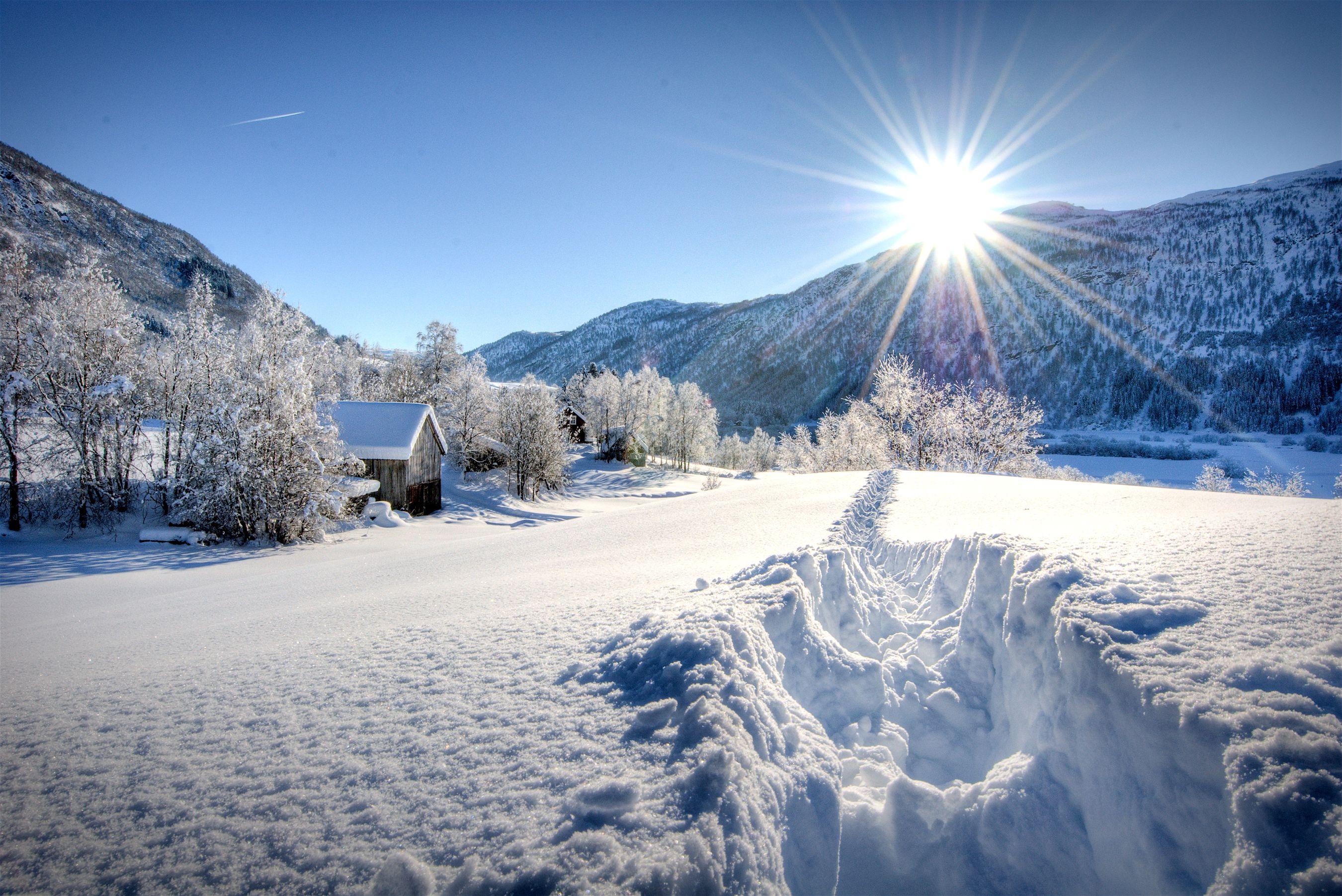 hiver au soleil