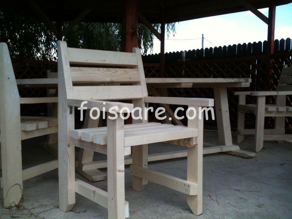 Mobilier De Terase Din Lemn Rustic Home Furniture Dining Bench
