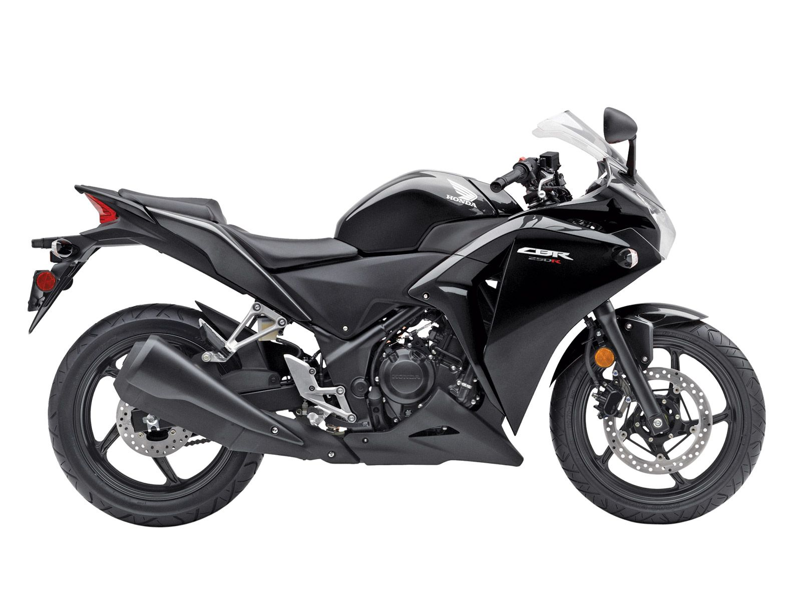 Honda CBR500R all black with turquoise rims yesssss