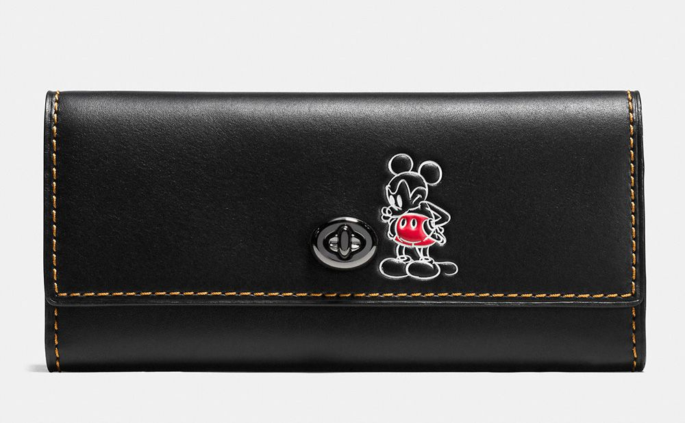 1ffe6c9a Coach Debuts New Collection With Disney, Featuring Mickey Mouse Bags ...