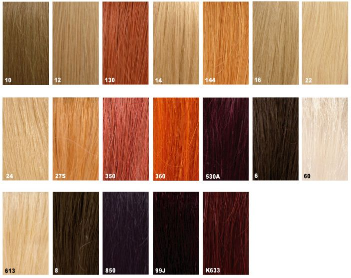 Hair Color Chart  Hair Stop And Shop Inc