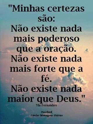 Não Existe Nada Maior Que Deus