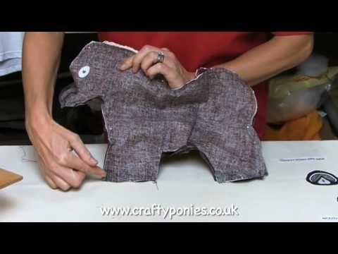 How To Make A Crafty Pony Crafty Ponies Part 4 Creative Kids