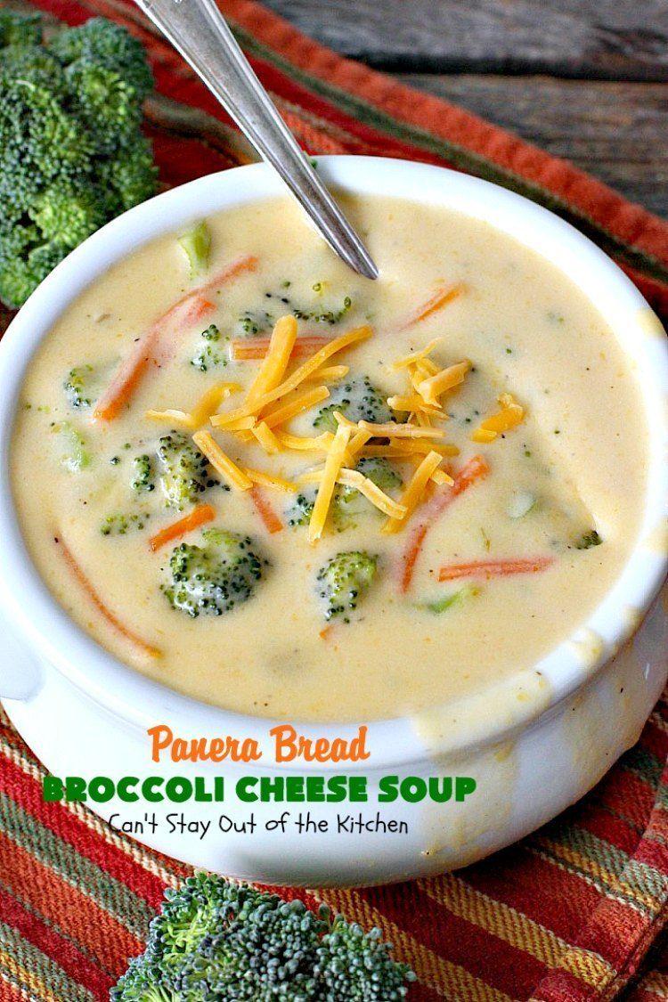Panera Bread Broccoli Cheese Soup Recipe Broccoli