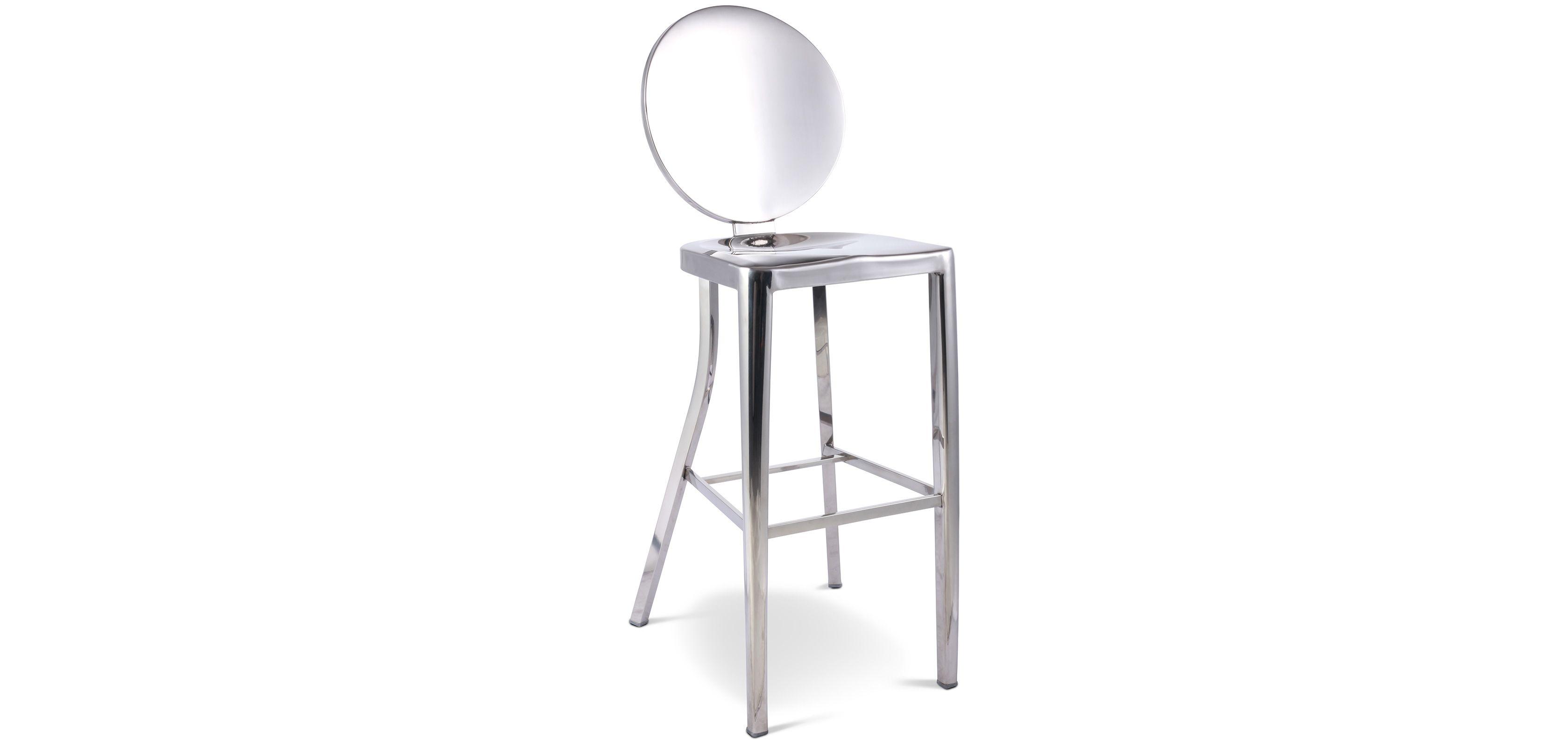 Tabouret De Bar Design Kong Sans Accoudoirs Philippe Starck Inspiration 60cm Design Philippe Starck Inspiration