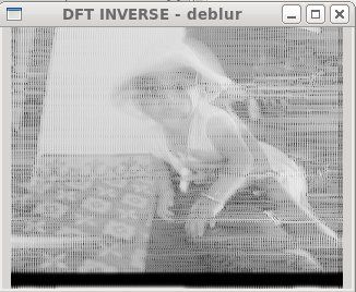 Experiments with deblurring using OpenCV | Books Worth Reading
