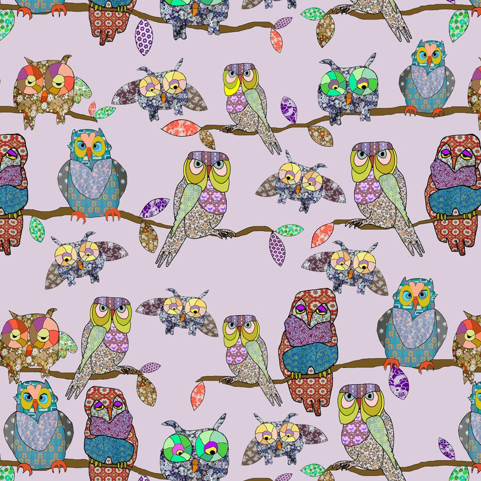 cutest owl wall paper EVER! Owl wallpaper, Owl