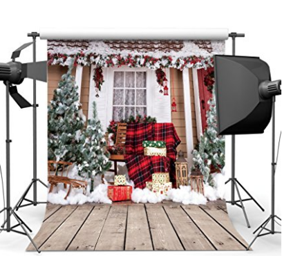 10x10 Ft Beautiful Christmas Theme Pictorial Cloth Customized Photography Backdrop Ba Christmas Backdrops Photo Backdrop Christmas Christmas Picture Background