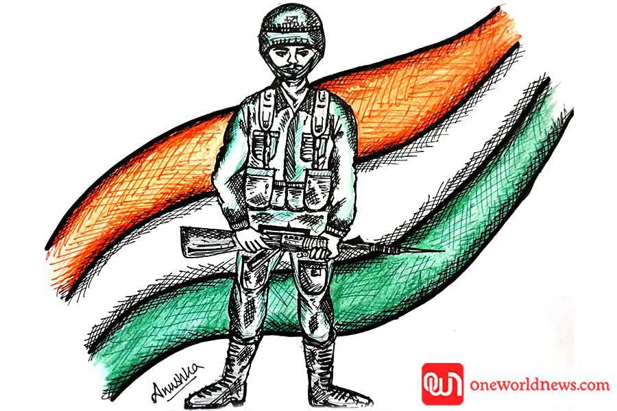 Kargil Vijay Diwas Indipendence Day Peace Gesture Photo And Video