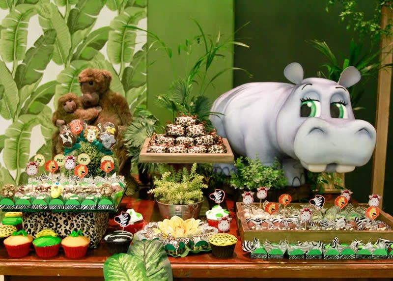 Jungle, Safari, Zoo Party Ideas and Inspirations  Jungle theme ...