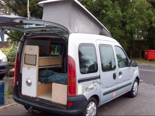 billedresultat for kangoo camper micro camper. Black Bedroom Furniture Sets. Home Design Ideas