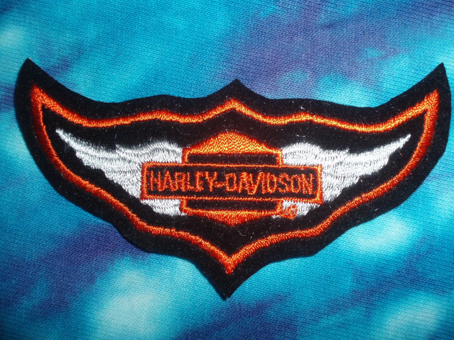 Harley Davidson  Patch  Biker  Collectible by OldNintheWayPatches, $20.00
