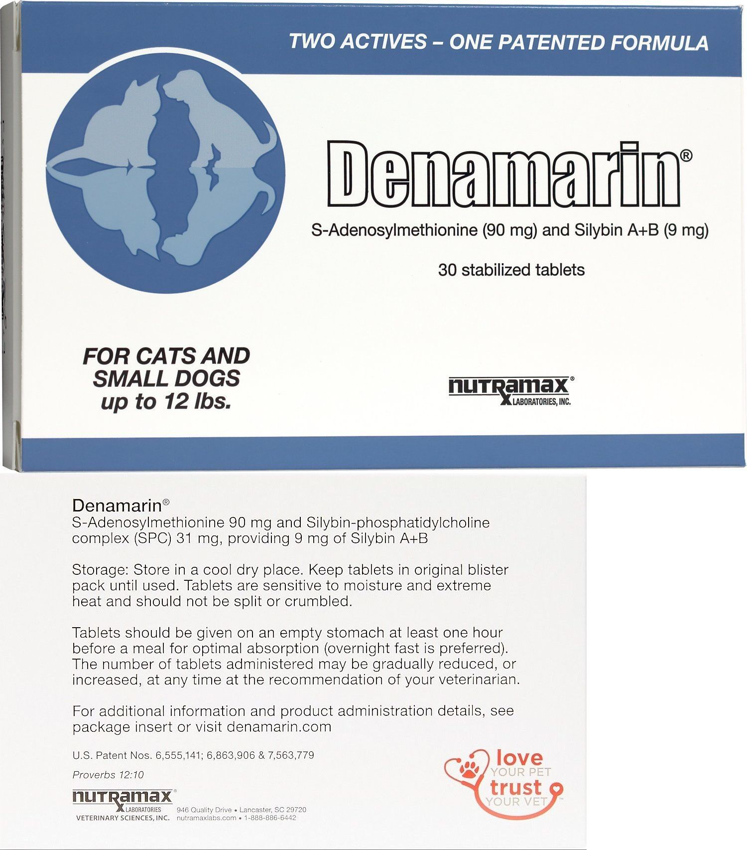 Details About Denamarin For Cats And Small Dogs 30 Tablets New 12 2022 Small Dogs Tablet Cats