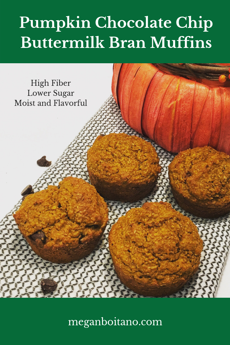 Pumpkin Chocolate Chip Muffins Megan Boitano Nutrition Recipe Pumpkin Chocolate Chips Pumpkin Chocolate Chocolate Chip