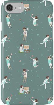 Oikawa Tooru Pattern - green iPhone 7 Cases