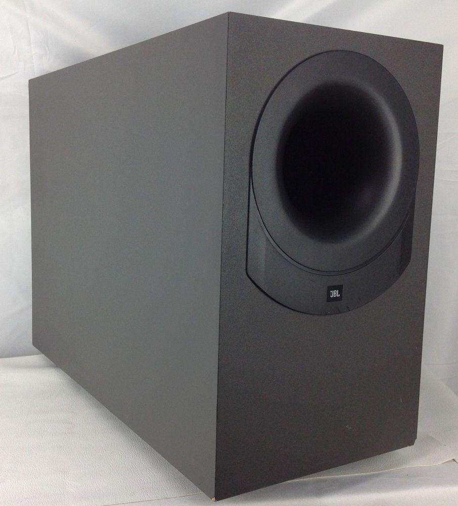 Jbl Bass 10 Surround Sound System Passive Subwoofer Works Jbl Passive Subwoofer Surround Sound Systems Subwoofer