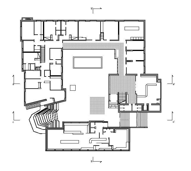Alvar Aalto Floor Plans   Saynaatsalo Alvar Aalto Alvar Aalto Architect Pinterest