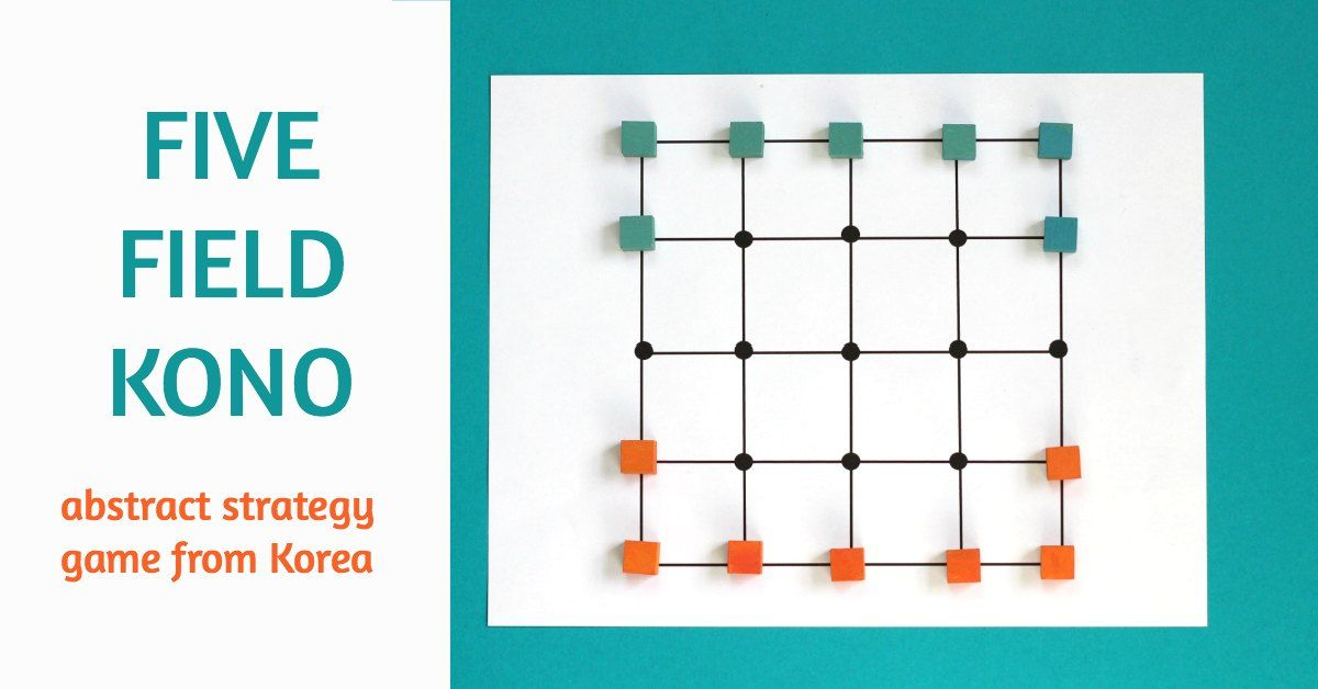 Playing Five Field Kono Makes Your Kids Smarter Math Pinterest