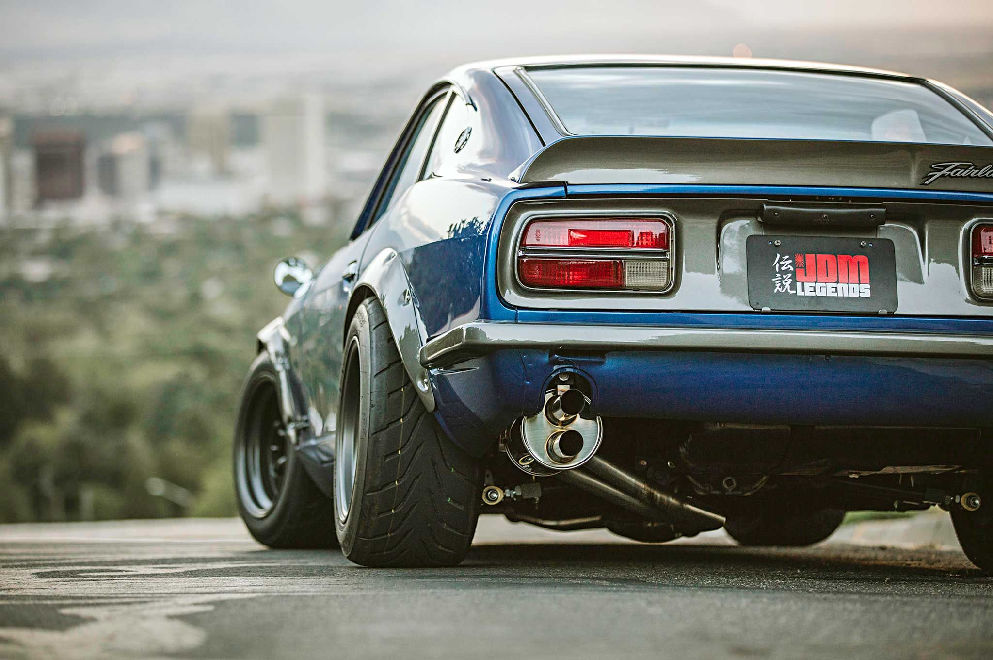JDM Legends has built its reputation with detail-oriented restorations on vintage JDM cars. This 1973 Datsun 240Z is perhaps their greatest work to date.