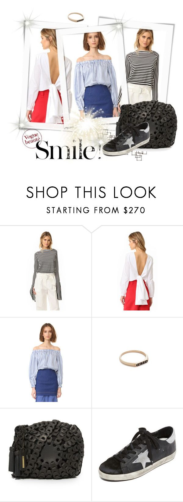 """""""Chic in PAPER London Top!!"""" by stylediva20 on Polyvore featuring Paper London, Nora Kogan, Zimmermann, Golden Goose and Crate and Barrel"""