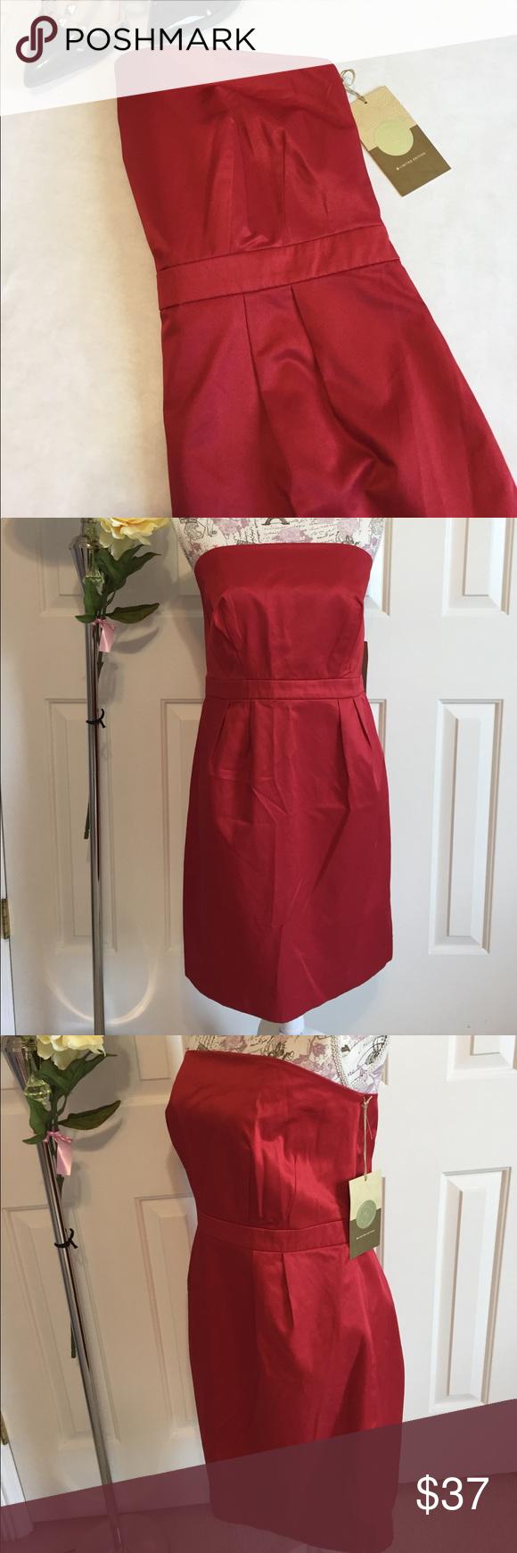 Target Ltd Edition Strapless Dress Nwt Dresses Limited Edition Dress Strapless Cocktail Dresses [ 1740 x 580 Pixel ]