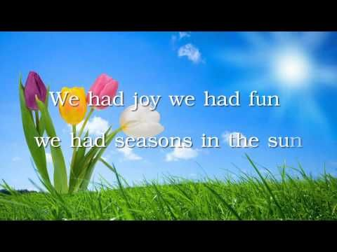 Season In The Sun Westlife With Lyrics Youtube Music