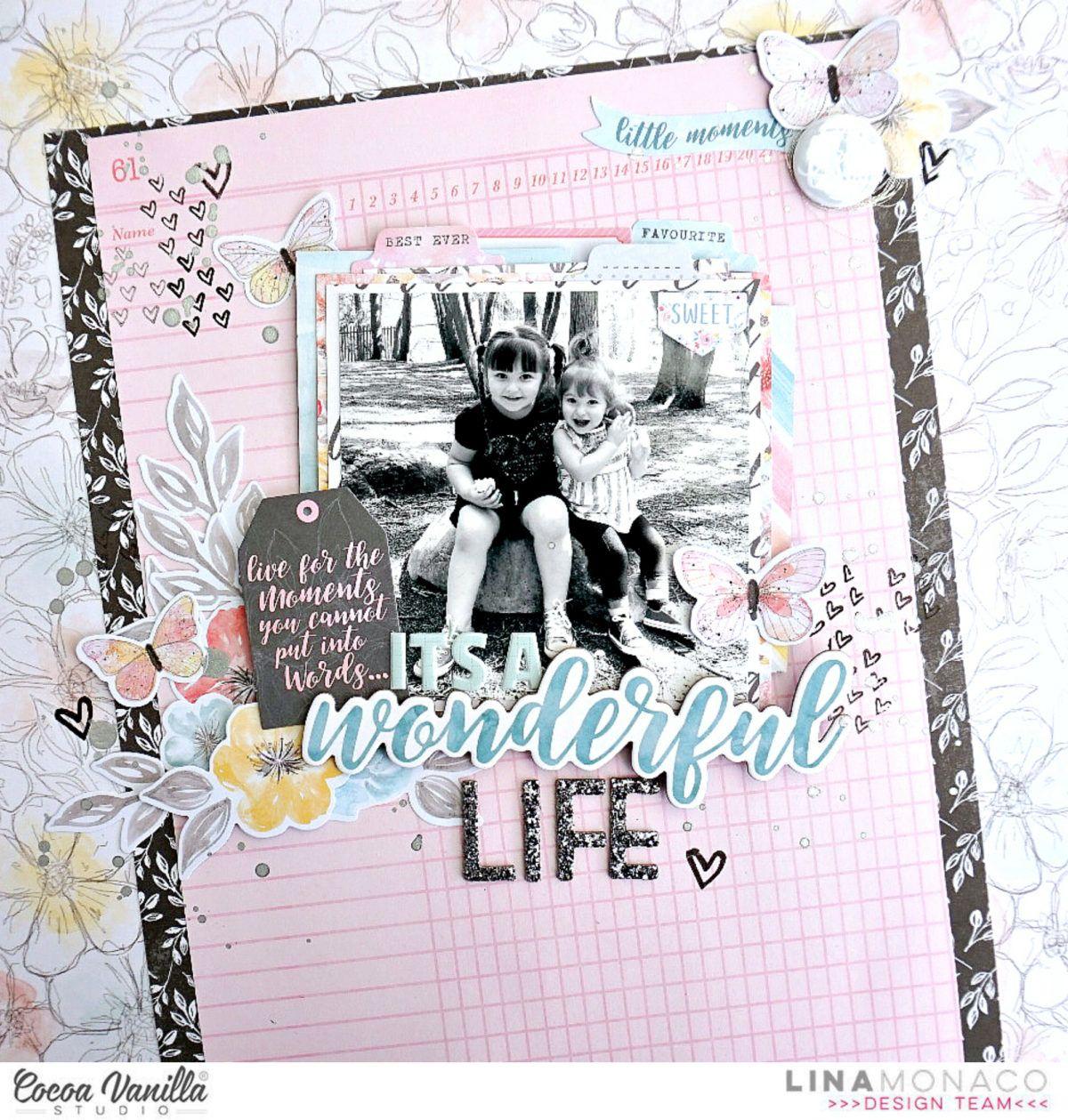 It\'s A Wonderful Life | Layout Ideas 2 | Pinterest | Wonderful life ...