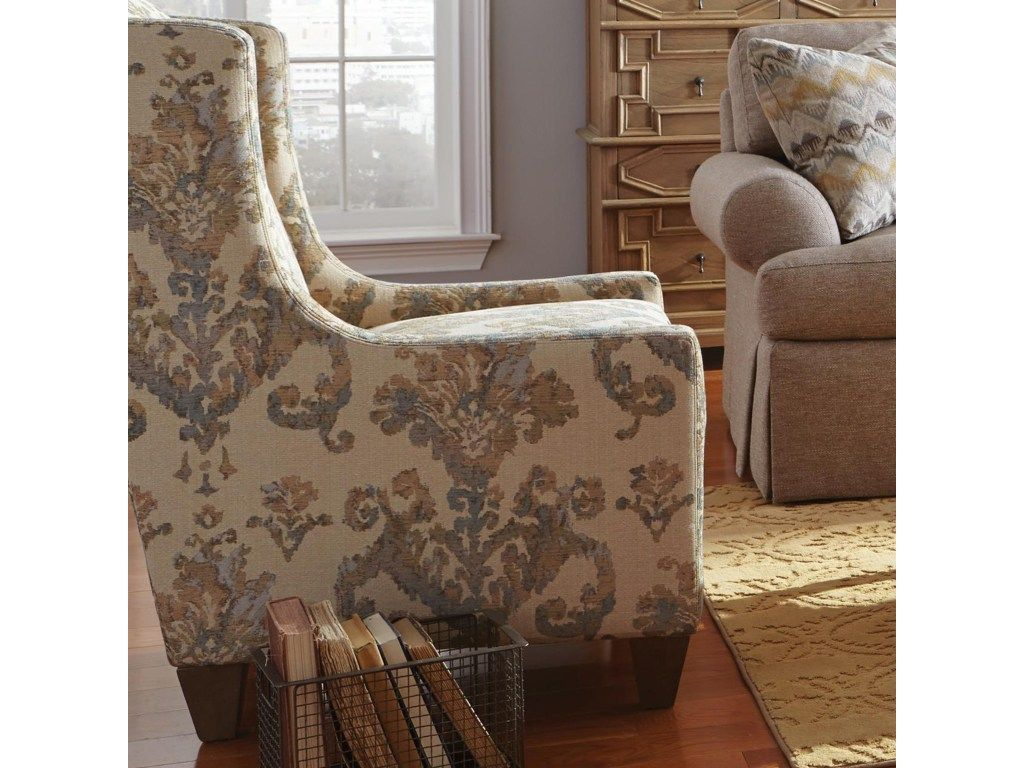 craftmaster accent chairs transitional wing chair belfort