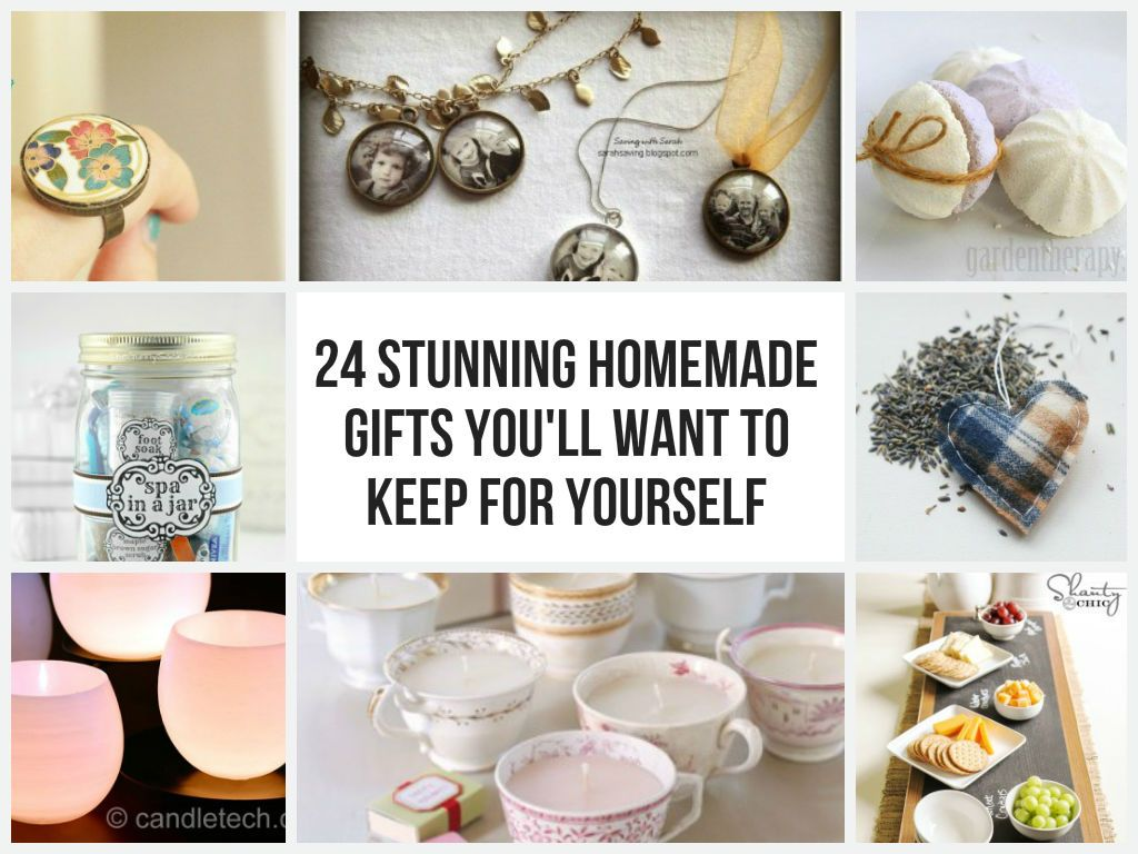 24 Stunning Homemade Gifts You\'ll Want To Keep For Yourself | Gifts ...