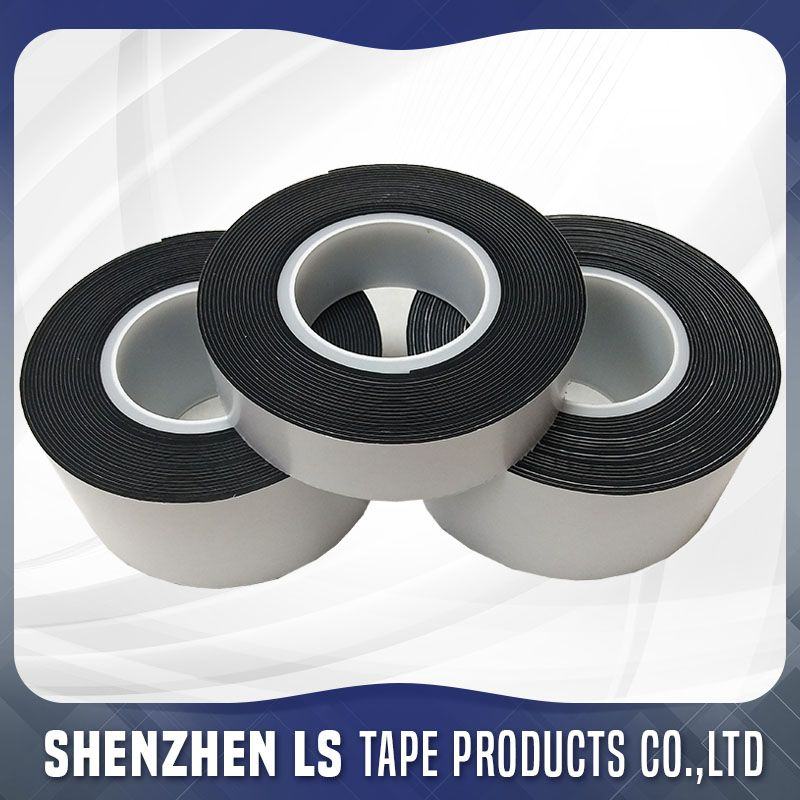 Nbr Epdm Neoprene Single Sided Adhesive Rubber Tape Adhesive Nbr Tape