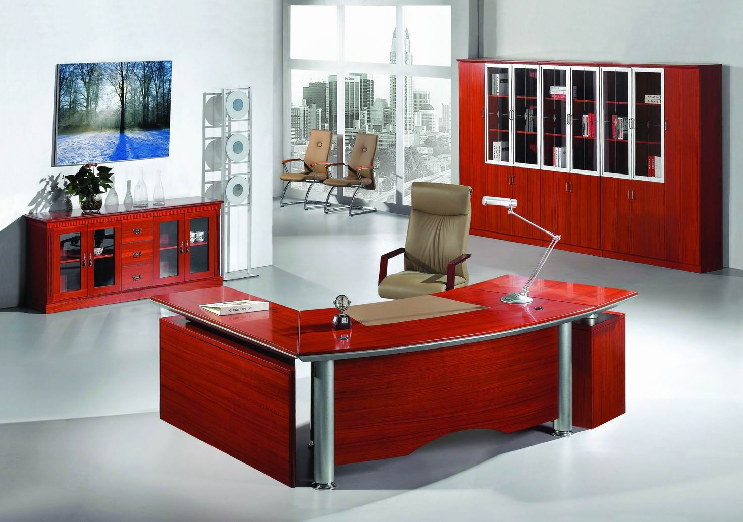 The Office Furniture Has Become An Important Part In Maintaining