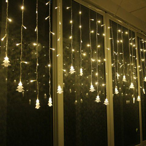 Christmas Tree Pendant LED String Light Indoor Decoration Supplies - outside christmas decorations sale