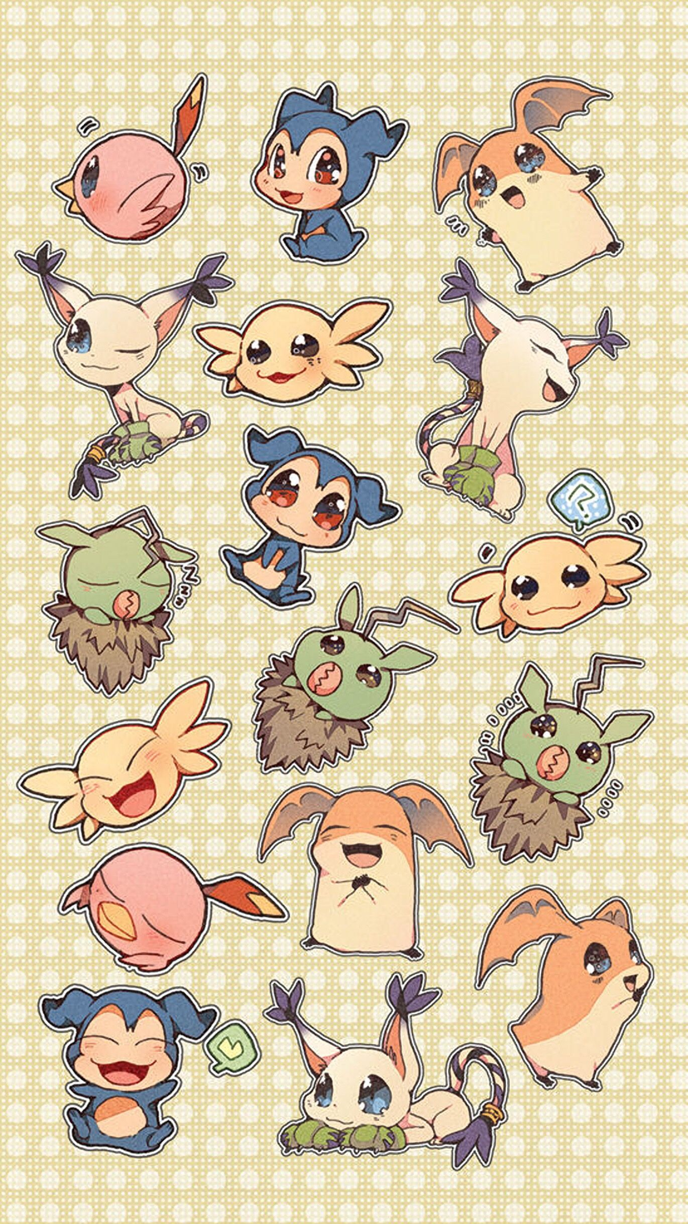 Pokemon wallpaper for iPhone and Android.