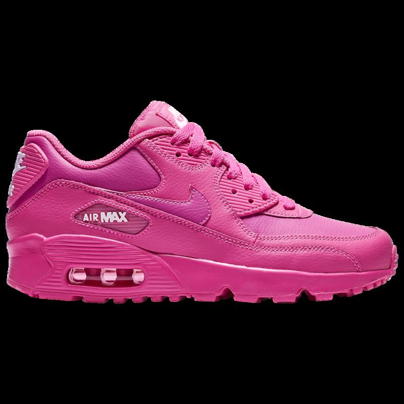 Nike Air Max 90 - Girls' Grade School | Air max 90 leather, Nike ...