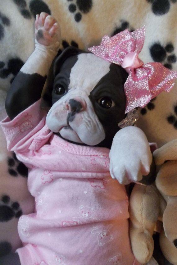Custom Made To Order Reborn Puppy Dog Art Doll Vinyl