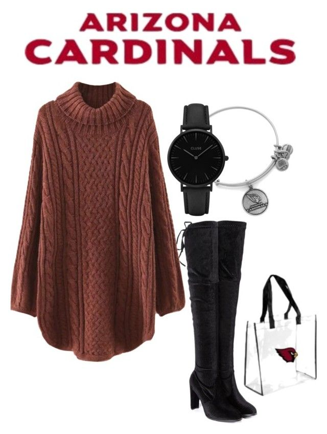 Arizona Cardinals Inspired Outfit #AZCardinals #NFLFanStyle