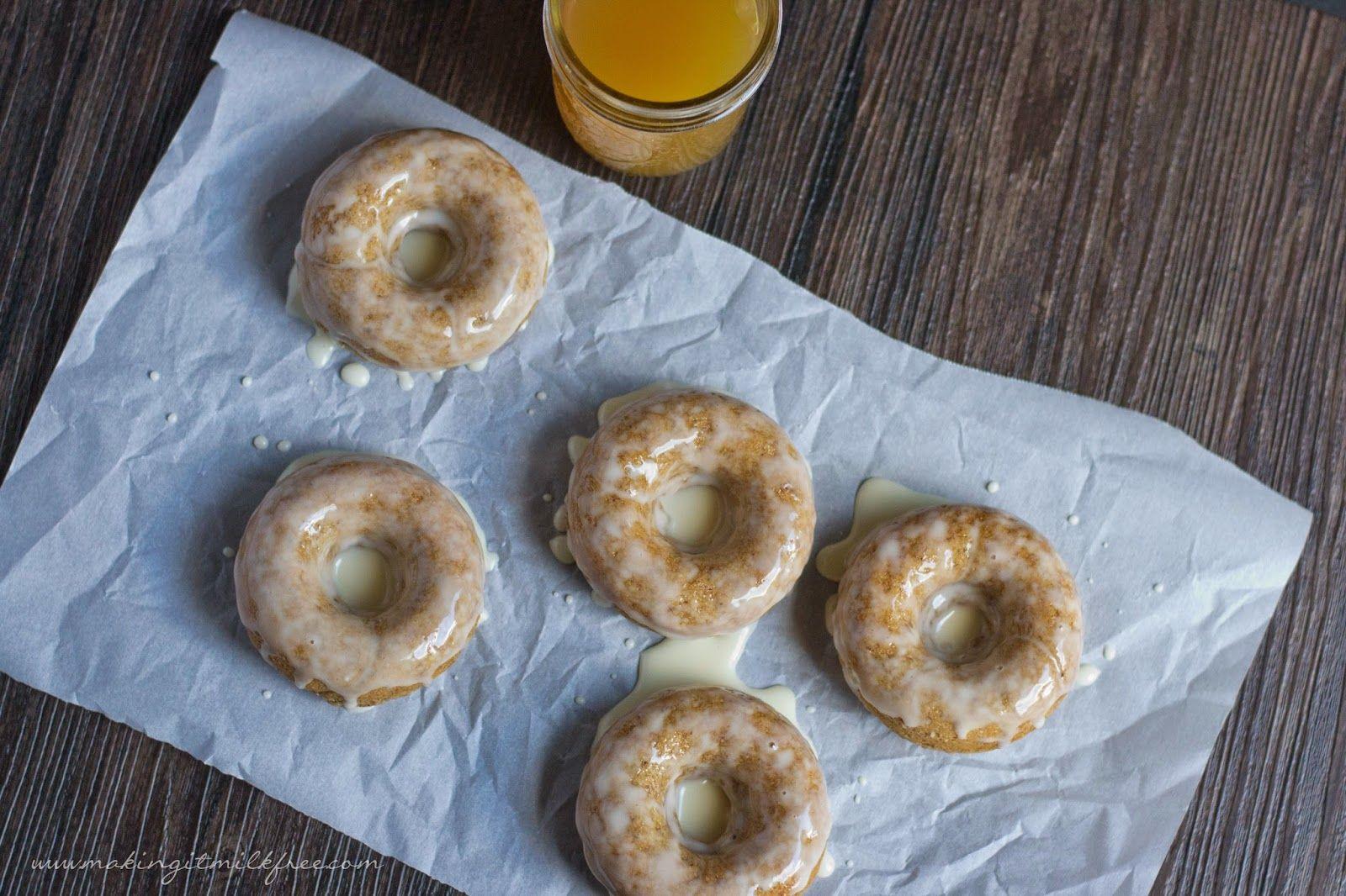 Apple Cider Glazed Donuts {gluten free + vegan} Vegan