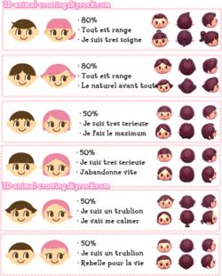 Animal Crossing New Leaf Comment Avoir La Coiffure Noeud