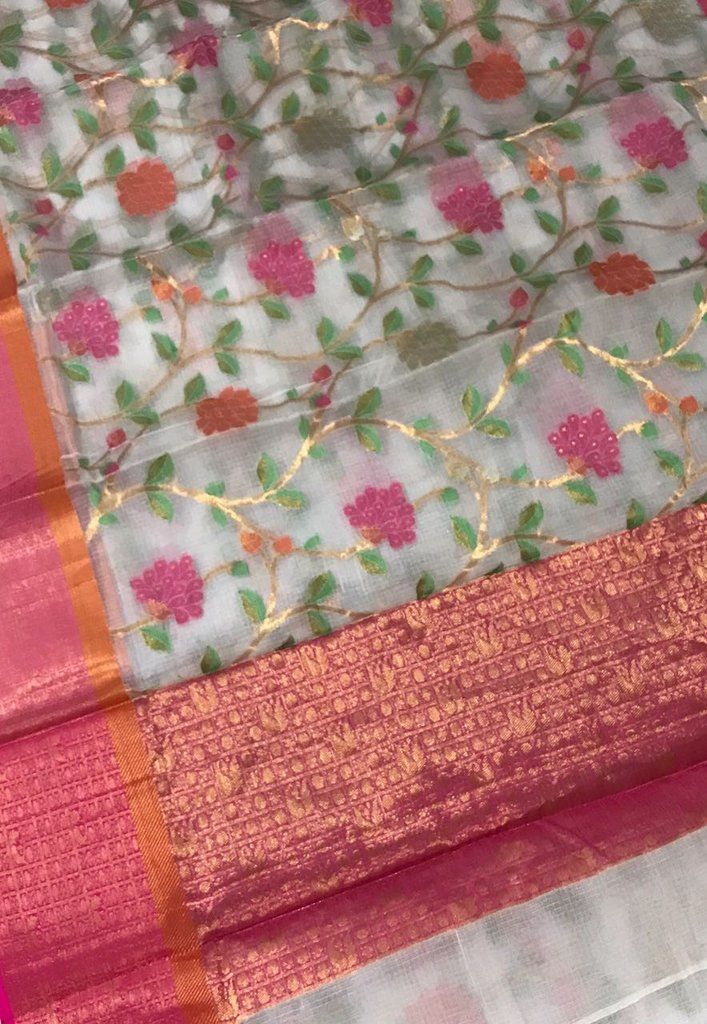 5b3966a105 Buy Pure Kota Silk Sarees, Silk kota saree, kota silk sarees, kota doria  sarees, kota sarees at best and lowest prices with Free Shipping