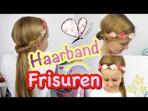 3 frisuren f r s haarband haarbandfrisuren coole m dchen z pfe frisuren youtube frisuren f r. Black Bedroom Furniture Sets. Home Design Ideas