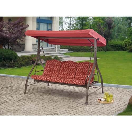 Stunning Patio Bench With Cushions That May Be Appropriate For You Terrassen Schaukel