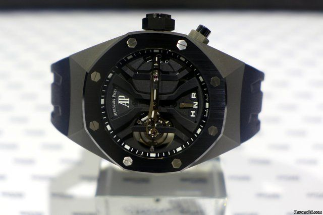 Audemars Piguet Royal Oak Concept Tourbillon Gmt Titanium And