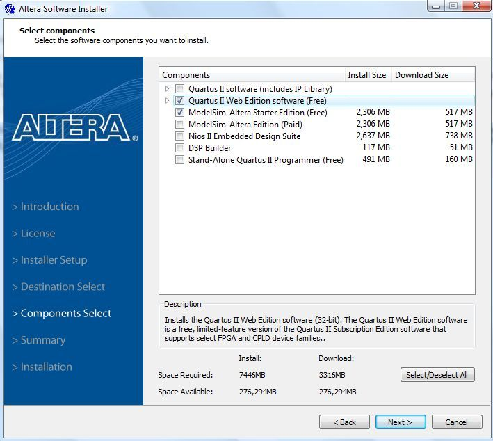 Quartus ii web edition software   uwhblanchuck   Software, Boarding