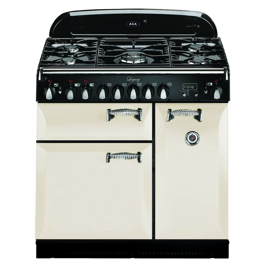 Shop AGA Legacy 36-in 5-Burner 2.2-cu ft/1.8-cu ft Double Oven ...