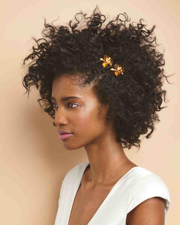 Como hacer rizos afro en pelo corto