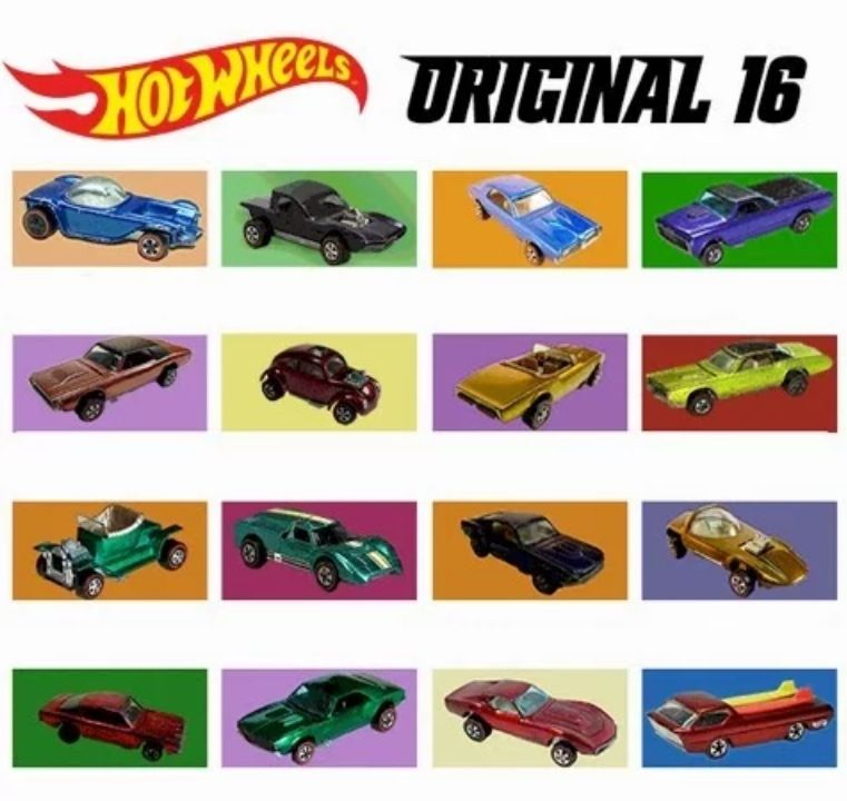 Hot Wheels - 1968 - Sweet 16 - Promotional Advertising Poster