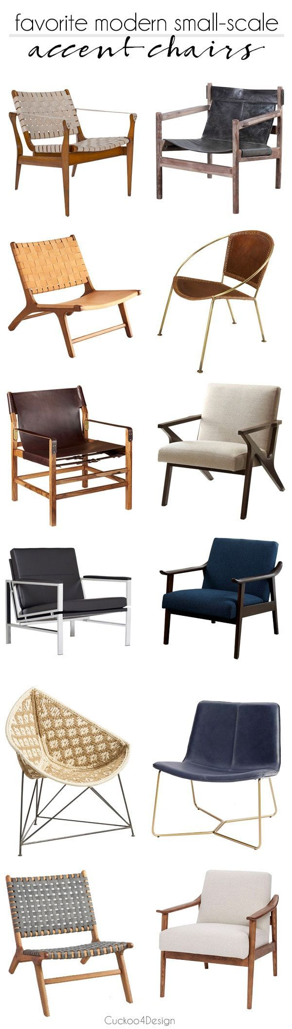 Favorite Modern Small Scale Accent Chairs Small Leather Chairs
