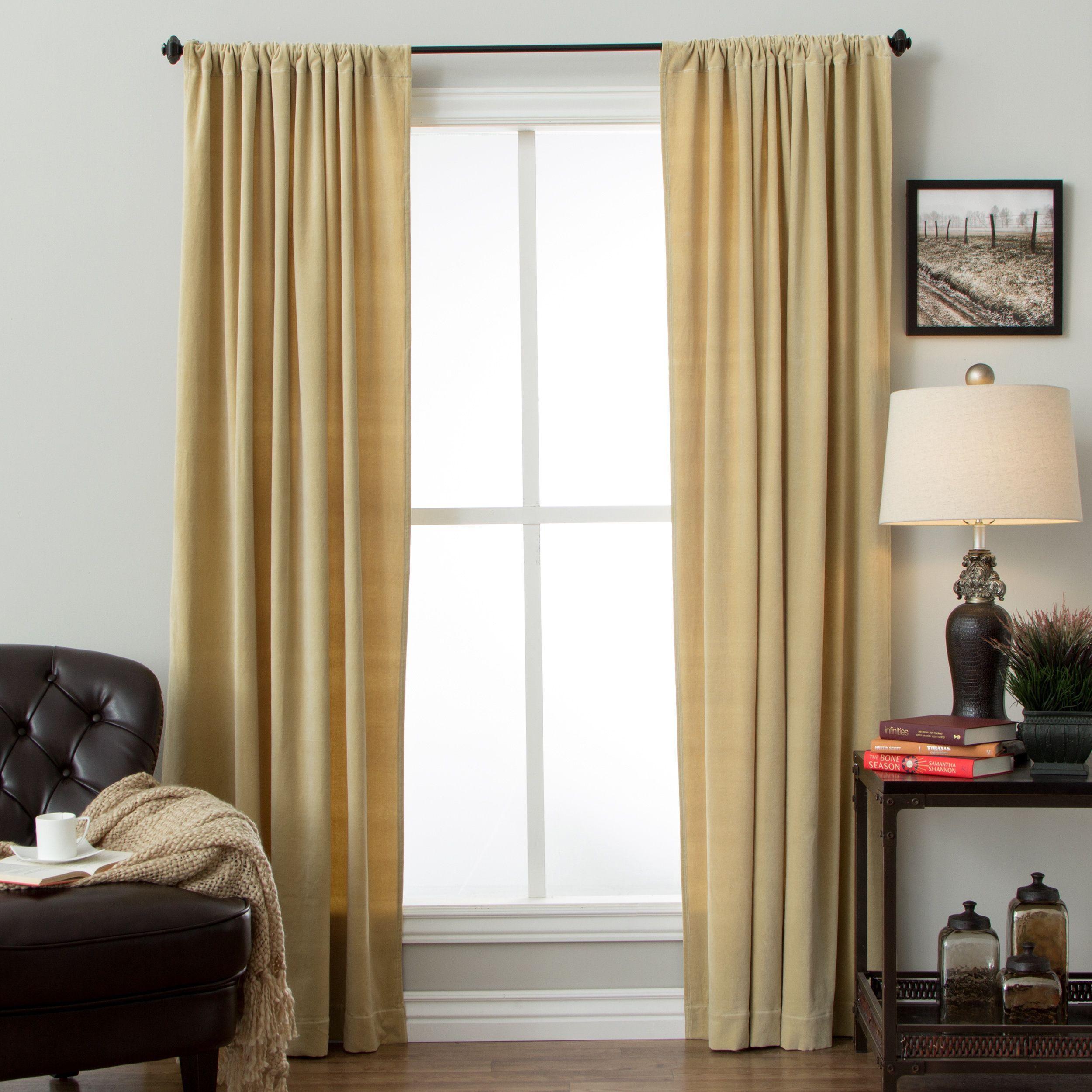 pin velvet panels signature blackout master panel curtain bedroom pinterest