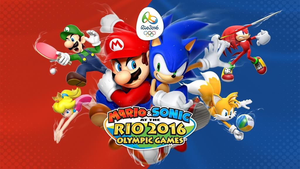 Oh, yeah! You guys see that image up there, and it's true! Me n' my pals and Mario and his pals are meeting again in Rio for the Olympics!A few people who didn't join in last time did this time, too! Like Rouge, Diddy Kong, and–… ZAZZ?! WHO INVITED HIM?! Are the others coming too?! COME OOOON!Ah, well. Still lookin' forward to it! See you guys there!